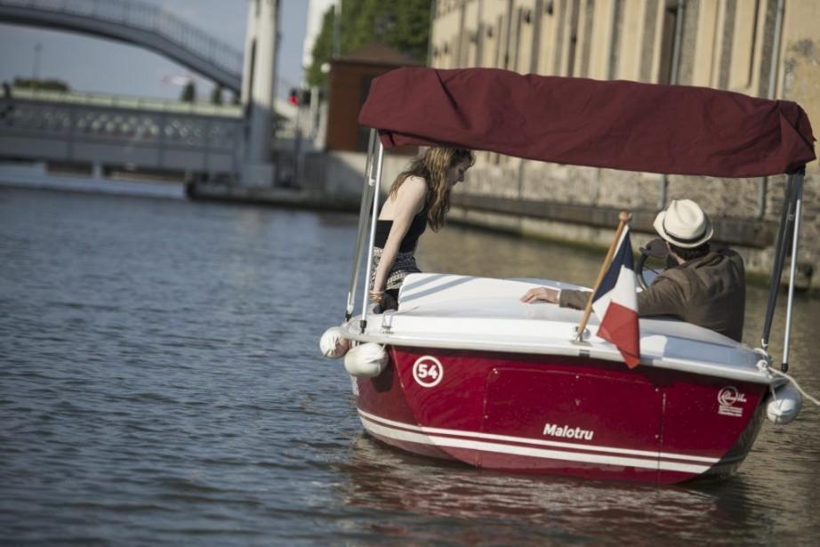 Le Bassin de la Villette.... (PHOTO FRED DUFOUR, AFP)