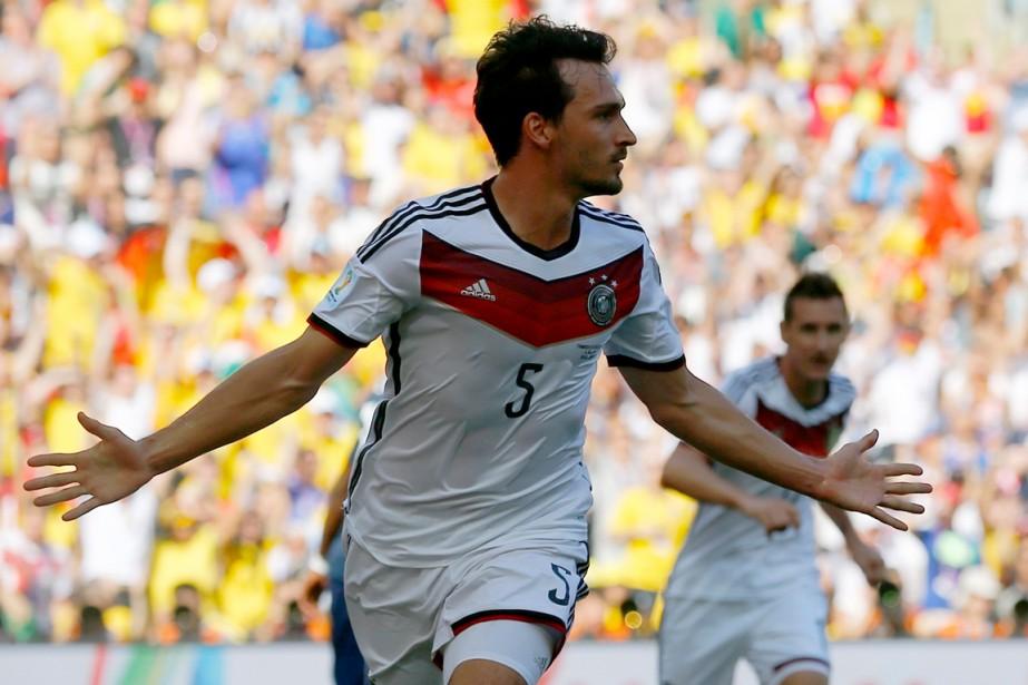 Mats Hummels... (Photo Darren Staples, Reuters)