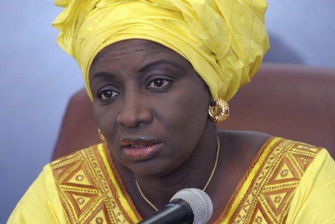 AminataTouré avait été nommée première ministre le 1er... (PHOTO SEYLLOU, ARCHIVES AFP)