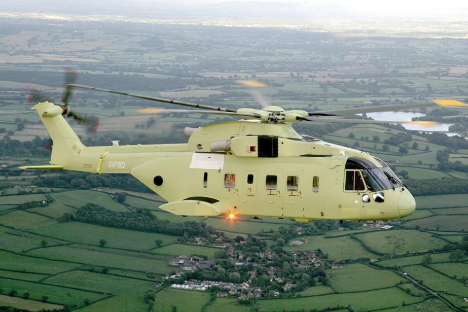 Un hélicoptère VH-71.... (Photo Asscoiated Press)