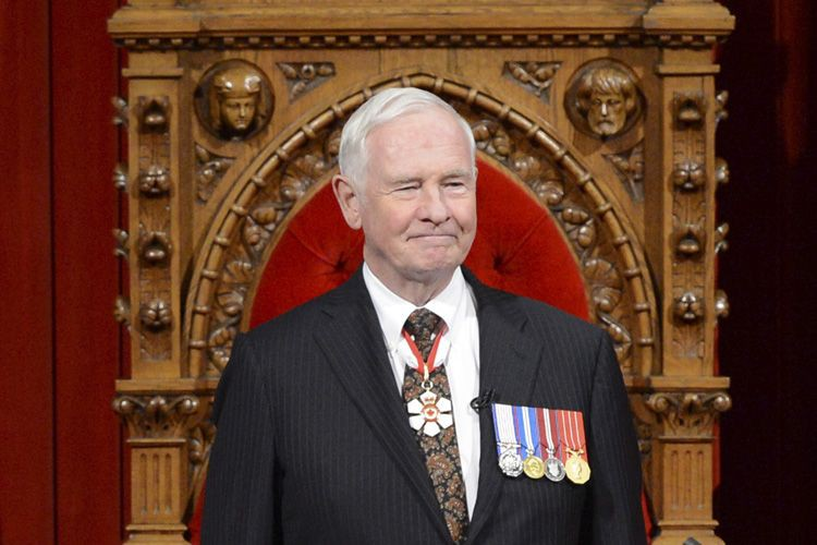 Le gouverneur général David Johnston.... (PHOTO ARCHIVES LA PRESSE CANADIENNE)