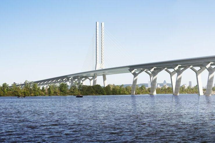 Le chef du Bloc rappelle que cette infrastructure... (PHOTO FOURNIE PAR INFRASTRUCTURE CANADA)
