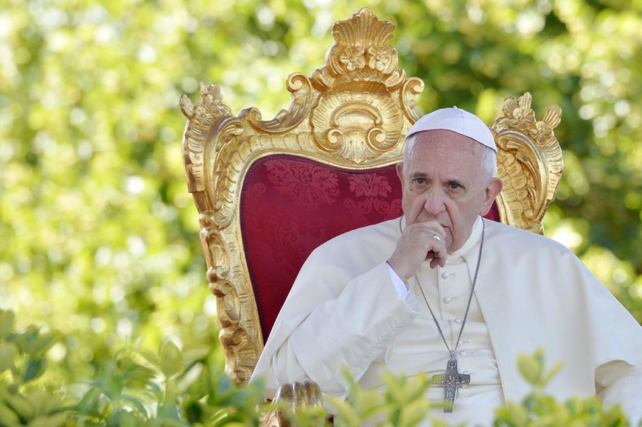 Le pape François a plusieurs fois annoncé sa... (PHOTO ANDREAS SOLARO, ARCHIVES AFP)