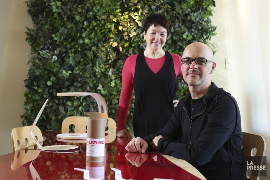 Portrait d'artisans: Renee Gravel et Jean Ayotte de... (PHOTO MARTIN CHAMBERLAND, LA PRESSE)