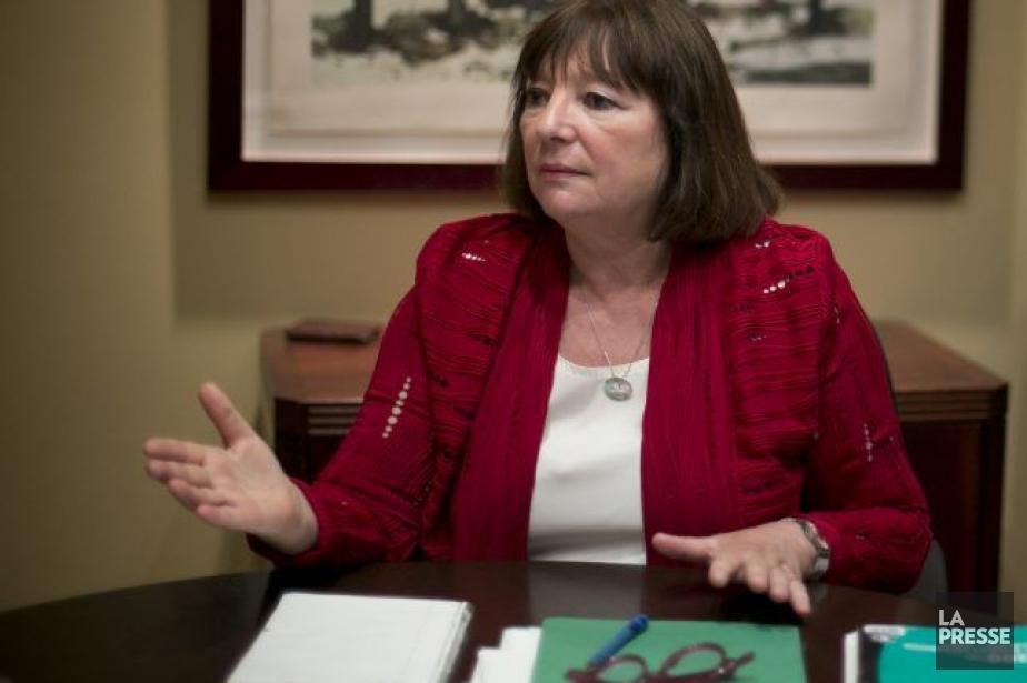 La présidente de la SODEC, Monique Simard, a... (Photo: David Boily, La Presse)