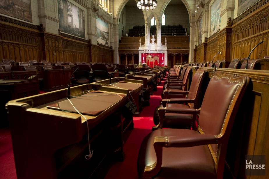 Le sénat canadien... (PHOTO ARCHIVES LA PRESSE CANADIENNE)