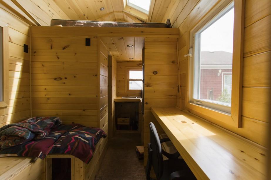 Micromaison tre en r gle julie turgeon conseils for Micro maison bois
