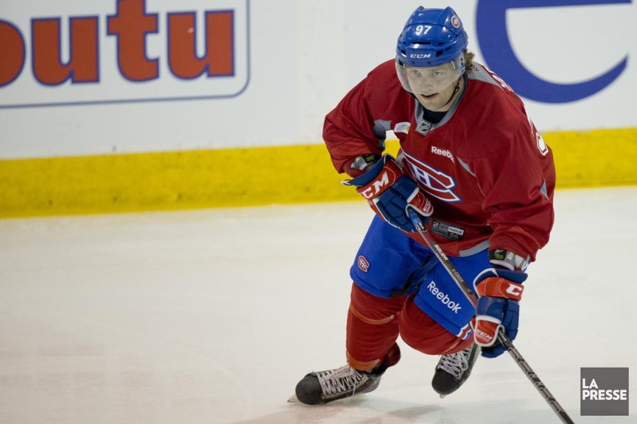 Shayne Corson est venu de Toronto pour voir... (Photo David Boily, La Presse)