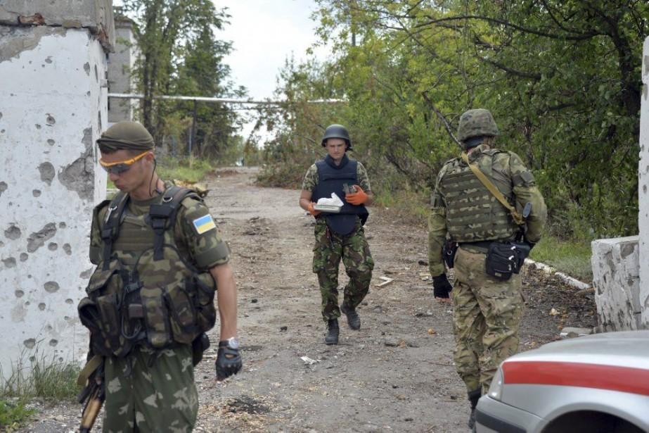 L'Ukraine a rapidement démenti tout rôle dans l'incident... (PHOTO GENYA SAVILOV, AFP)