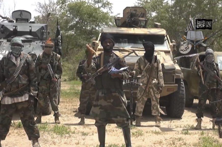 Dans une nouvelle vidéo, le chef de Boko... (Photo AFP)