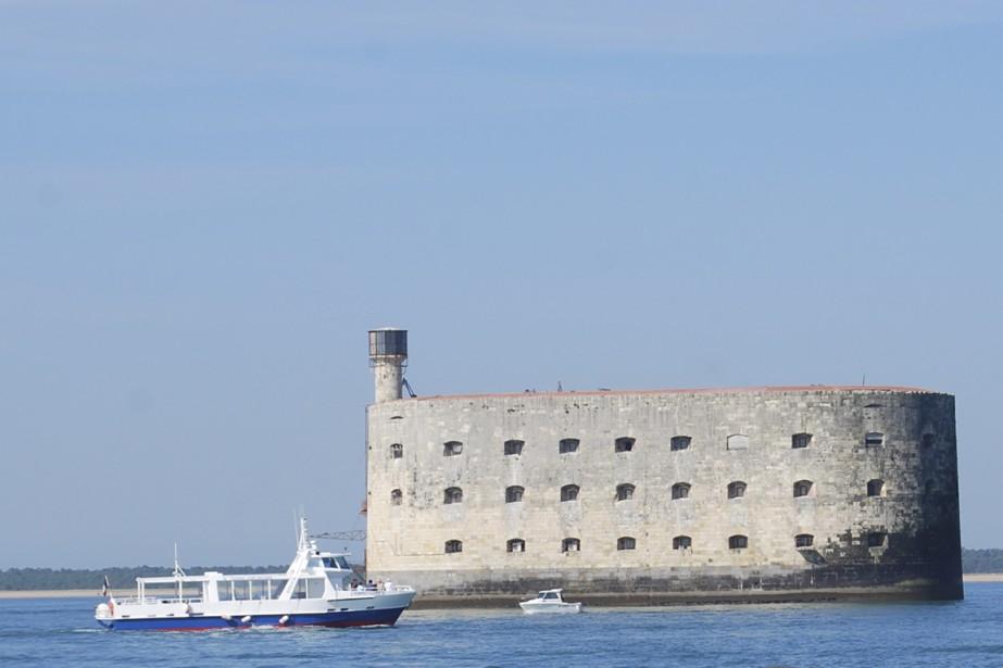 Le célèbre Fort Boyard, au large de La...