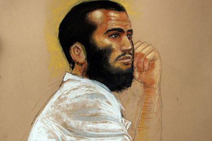 Omar Khadr... (Illustration: Janet Hamlin, PC)