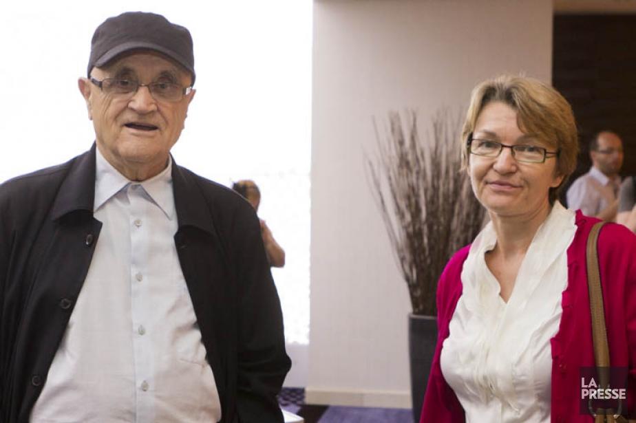 Serge Losique et Danièle Cauchard.... (Photo: Ninon Pednault, archives La Presse)