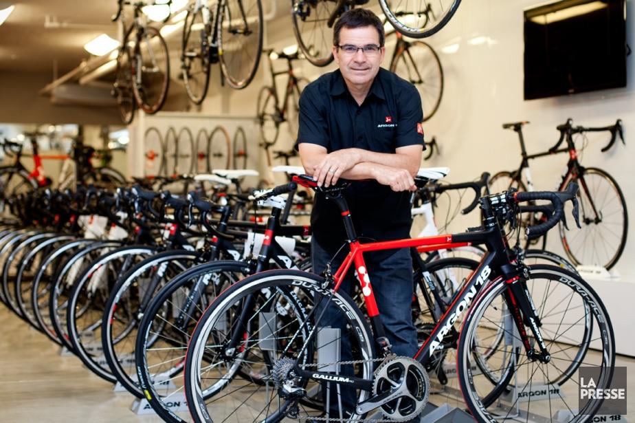 L'ancien cycliste Gervais Rioux, copropriétaire d'Argon 18.... (Photo Sarah Mongeau-Birkett, La Presse)