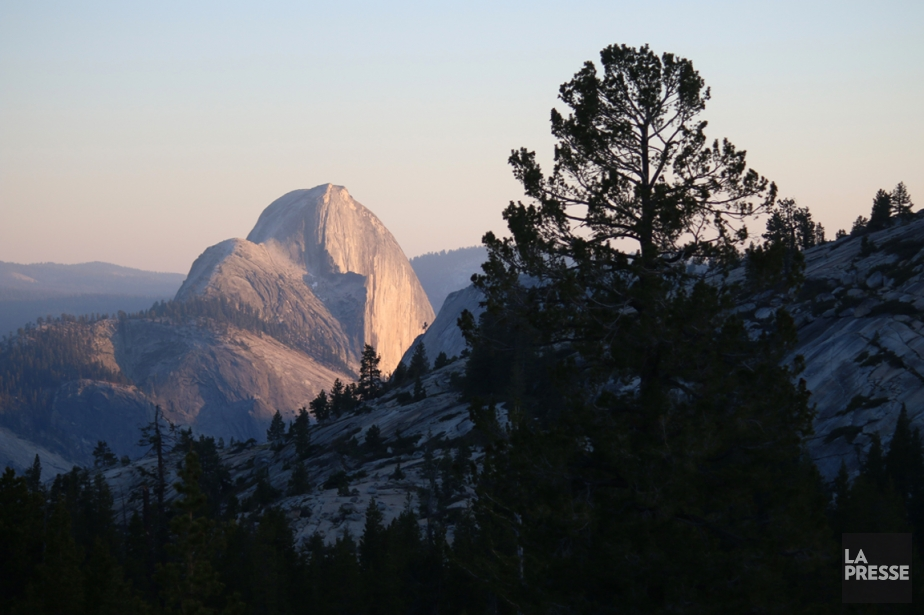 Le Half Dome domine la vallée. (Photo Sylvain Sarrazin, La Presse)