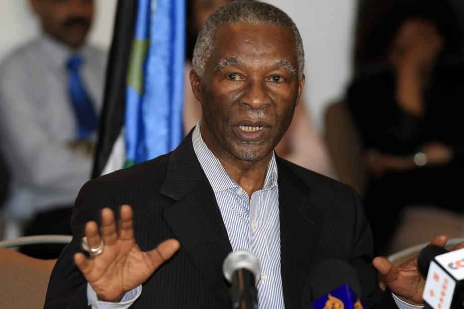 Thabo Mbeki fut président sud-africain de 1999 à... (PHOTO TIKSA NEGERI, ARCHIVES REUTERS)