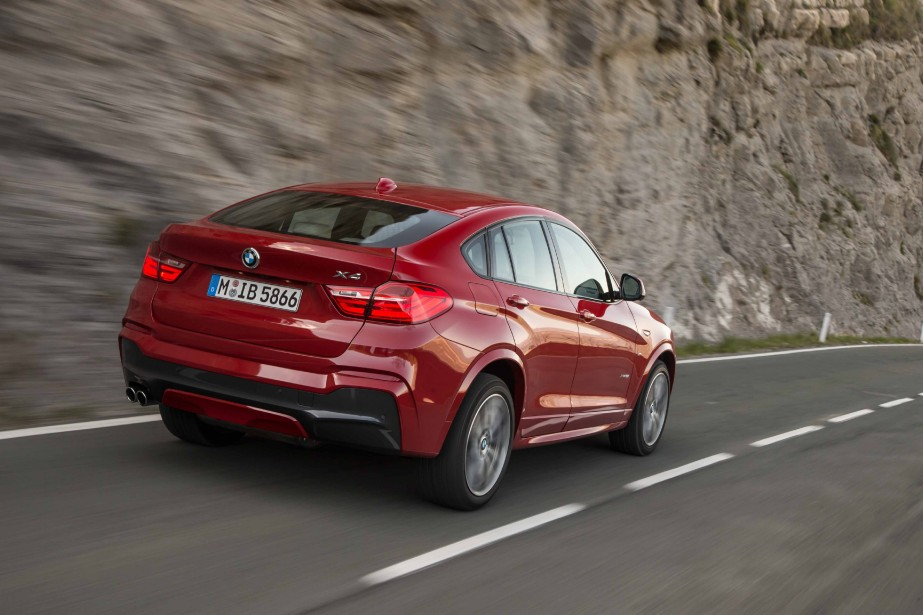 BMW X4 (Photo fournie par BMW)