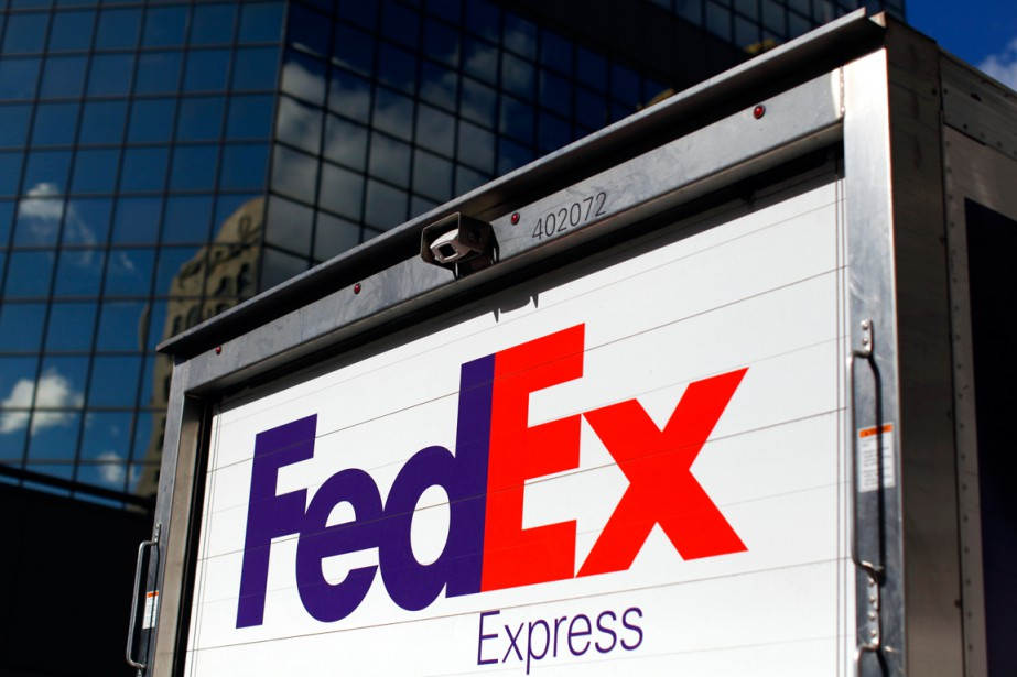 L'action de FedEx reculait mercredi matin à Wall... (Photo Mike Blake, archives Reuters)