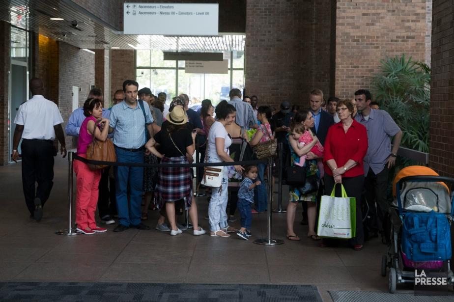 Malgré la forte demande, Passeport Canada assure que... (PHOTO FRANÇOIS ROY, LA PRESSE)