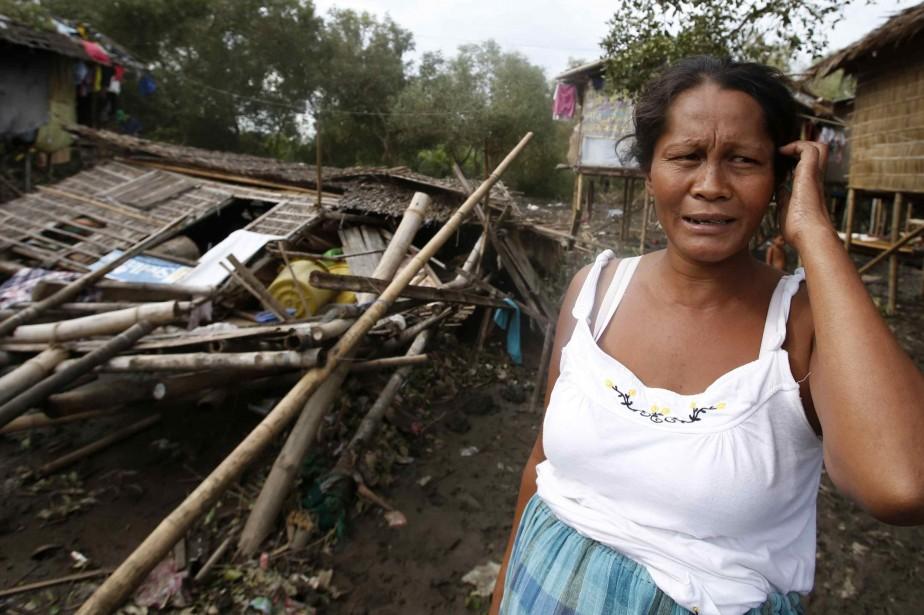 Les Philippines sont frappées chaque année par une... (Photo ERIK DE CASTRO, REUTERS)