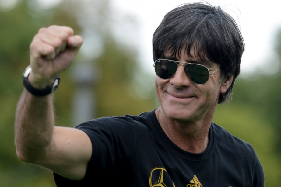 Le sélectionneur de l'équipe d'Allemagne, Joachim Löw.... (Photo Clemens Bilan, archives AFP)