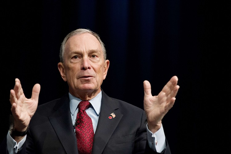 Michael Bloomberg... (Photo: AFP)