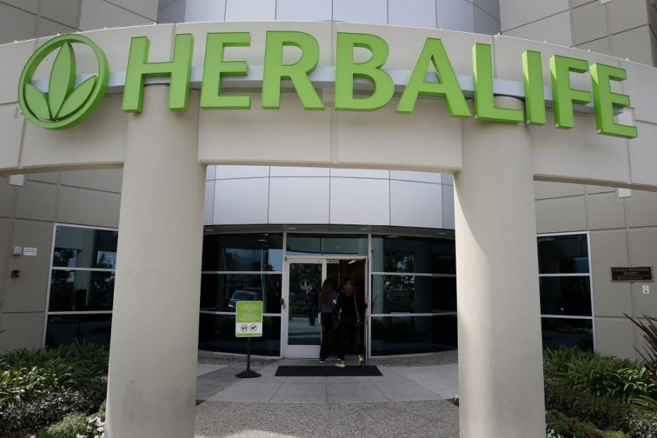 Herbalife écoule dans plus de 80 pays ses... (Photo Patrick T. Fallon, Bloomberg)