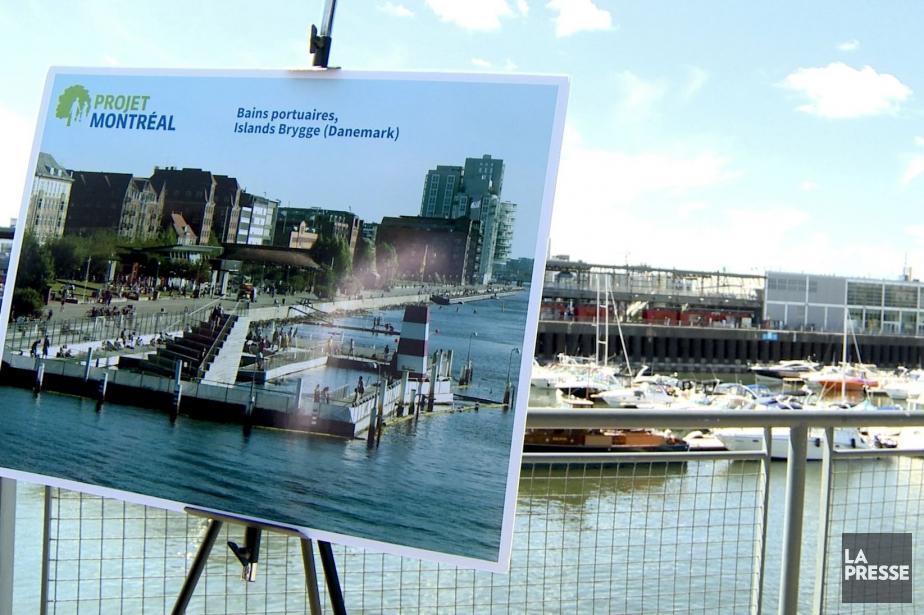 Copenhague a construit en 2003 un bain portuaire.... (IMAGE TIRÉE D'UNE VIDÉO, LA PRESSE)