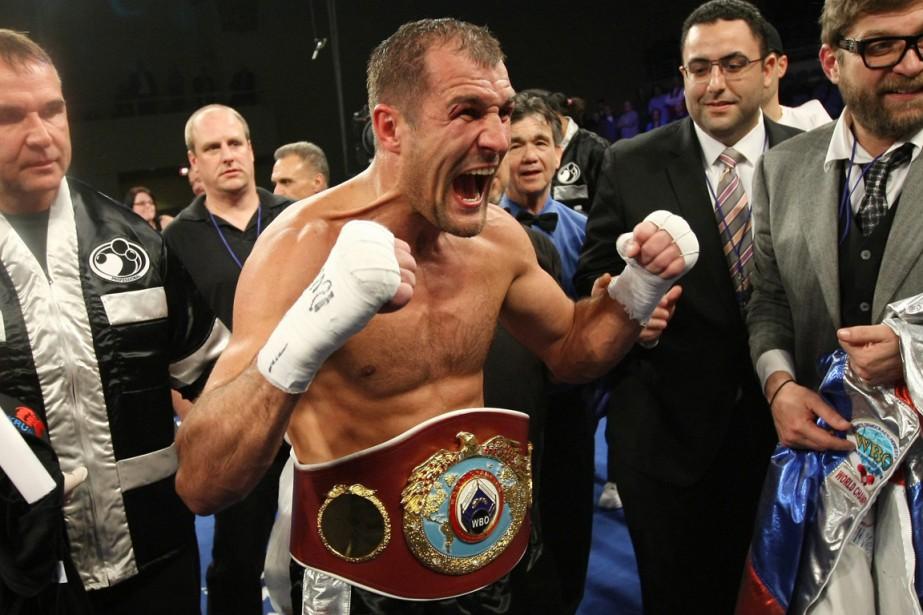 Le champion WBO Sergey Kovalev serait prêt à... (Photo Tim Larsen, AP)