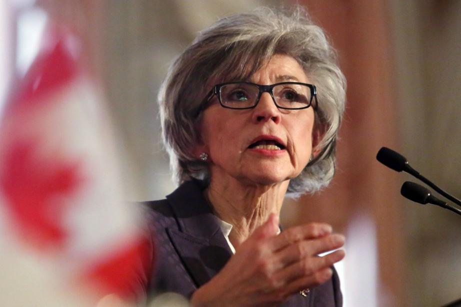 La juge en chef de la cour suprême... (Photo Fred Chartrand, Archives La Presse Canadienne)