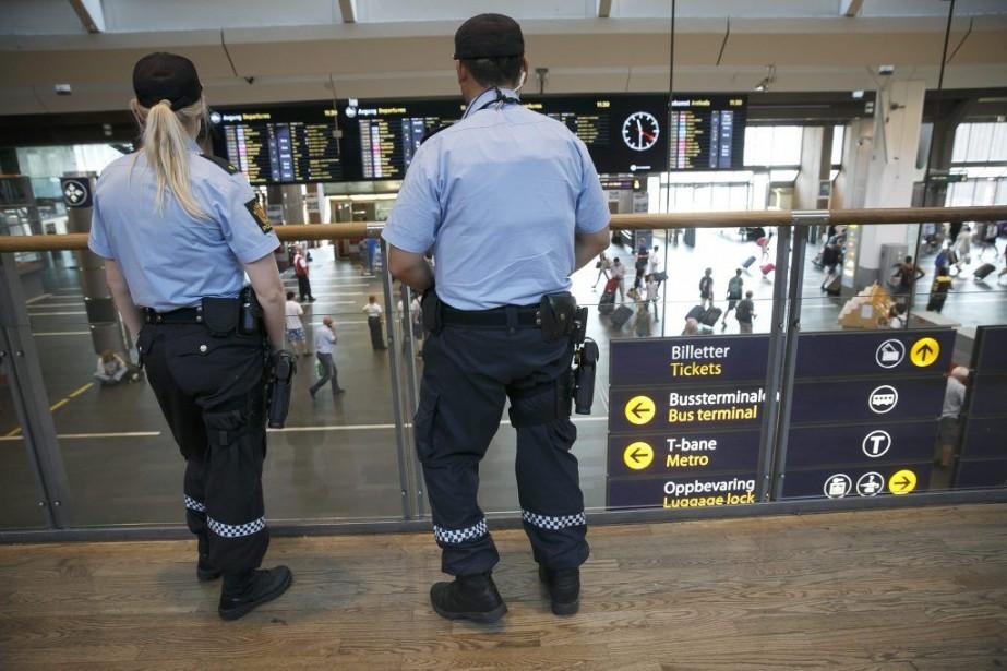 La Norvège est en état d'alerte depuis jeudi,... (Photo Heiko Junge, REUTERS/NTB Scanpix)