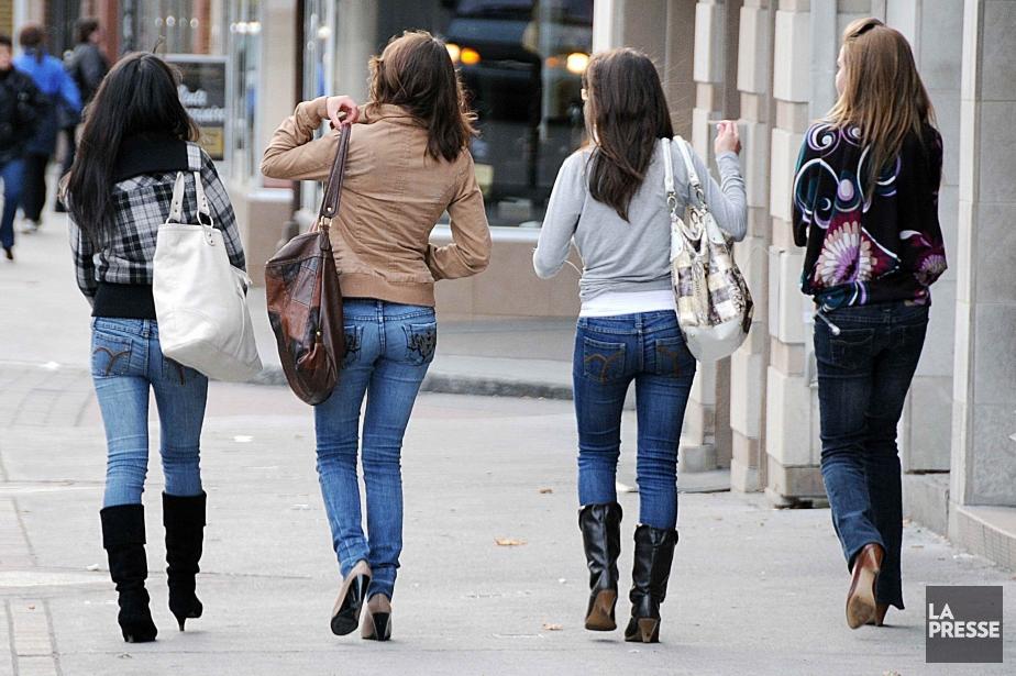 Un adolescent sur deux est insatisfait de sa... (Photo archives La Presse)