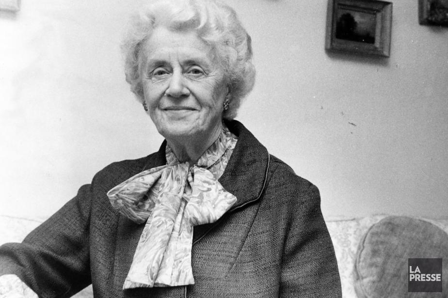 Thérèse Casgrains'est battue pour le droit de vote... (Photo Paul Henri Talbot, Archives La Presse)