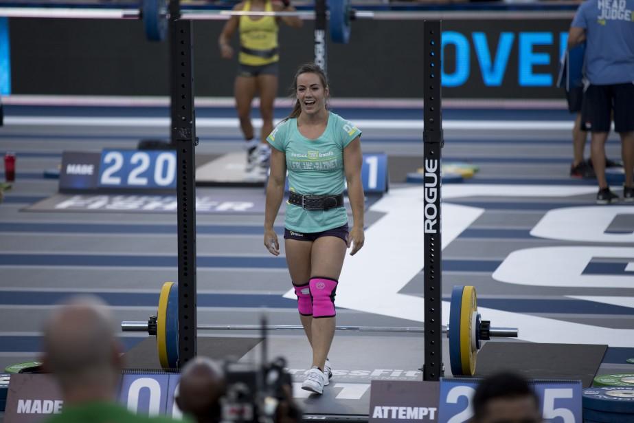 La Québécoise Camille Leblanc-Bazinet a remporté les championnats mondiaux de Crossfit qui se sont terminés dimanche en Californie, devenant ainsi la «femme la plus en forme de la planète». (Photo fournie par Reebok)