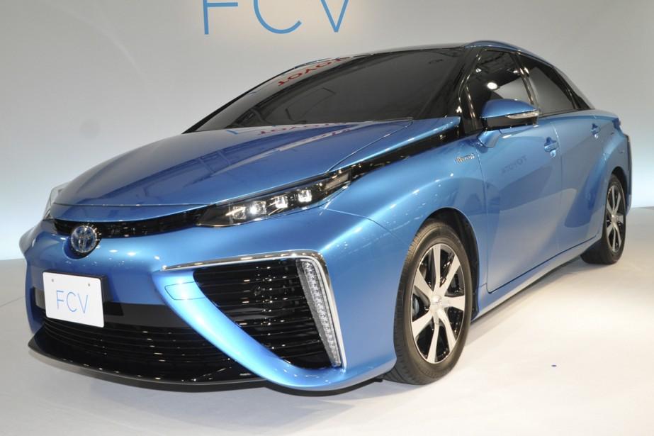 Toyota va lancer bientôt sa compacte FCV (Fuel... (Photo fournie par Toyota)