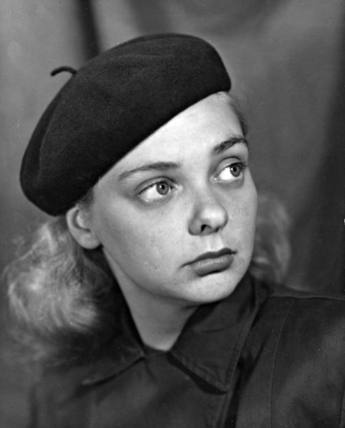 Marjolaine en septembre 1946. (Photo: Noël Gauvin, archives La Presse)