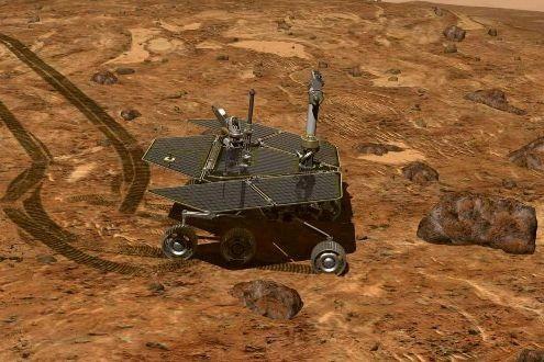 Le robot Opportunity explore la planète Mars.... (Photo: Reuters)