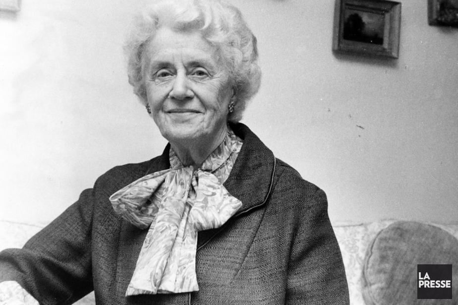 Thérèse Casgrain... (Archives La Presse)