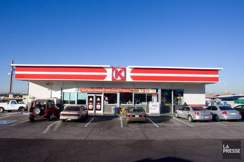Circle K est la bannière la plus répandue... (Photo Maxime Bergeron, archives La Presse)