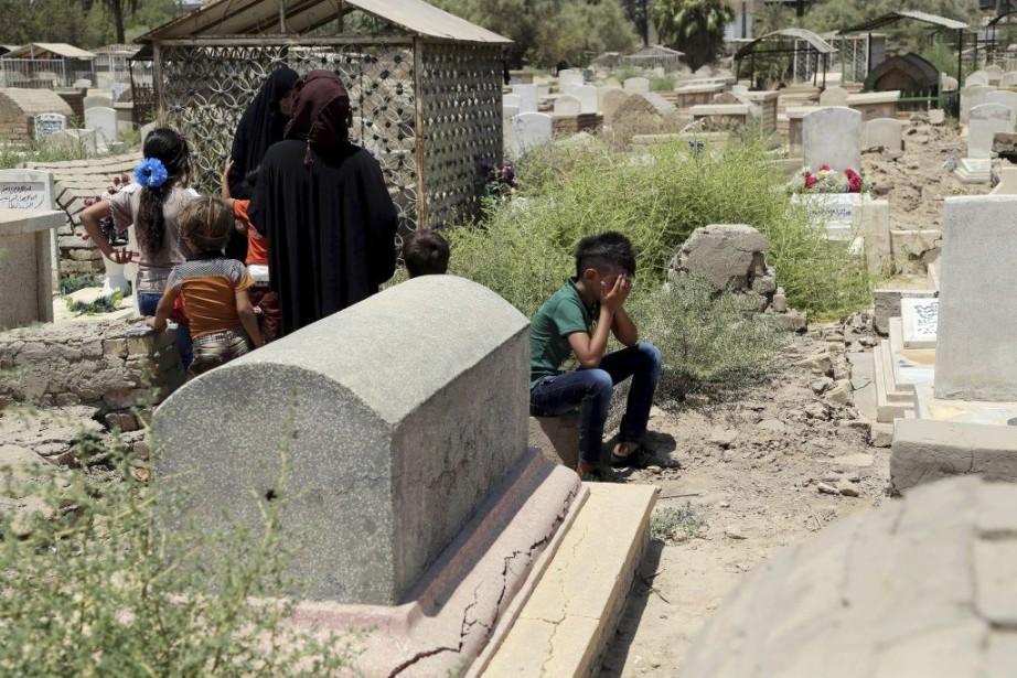 En juin, l'Irak avait enregistré son mois le... (Photo Karim Kadim, Archives AP)