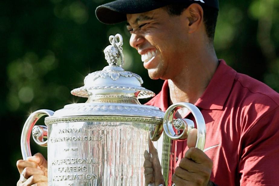 Tiger Woods est l'un des deux seuls golfeurs... (Photo Jessica Rinaldi, archives Reuters)