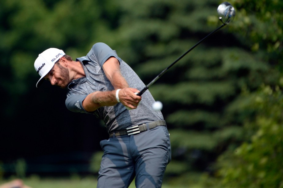 Dustin Johnson, qui a participé à l'Omnium canadien... (Photo Eric Bolte, USA Today)