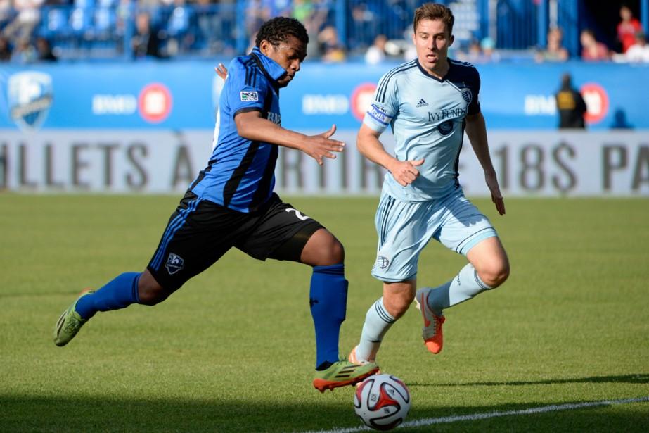 Santiago Gonzalez (à gauche) aura joué seulement 80... (Photo Eric Bolte, USA Today)