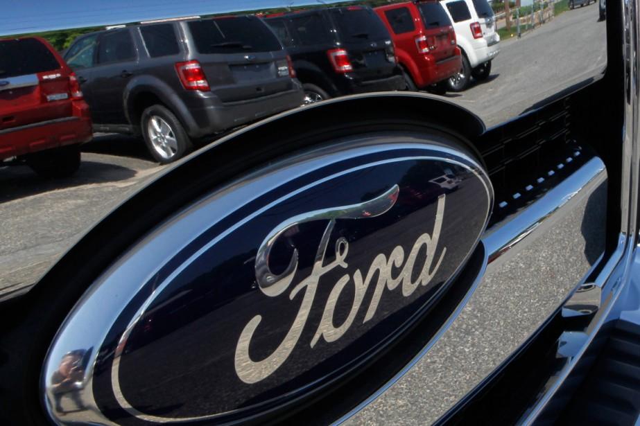 Les ventes de camions de Ford ont grimpé... (Photo Steven Senne, archives Associated Press)