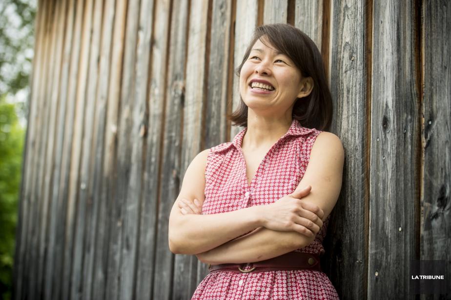 Kim Thuy... (Photo: Jocelyn Riendeau, La Tribune)