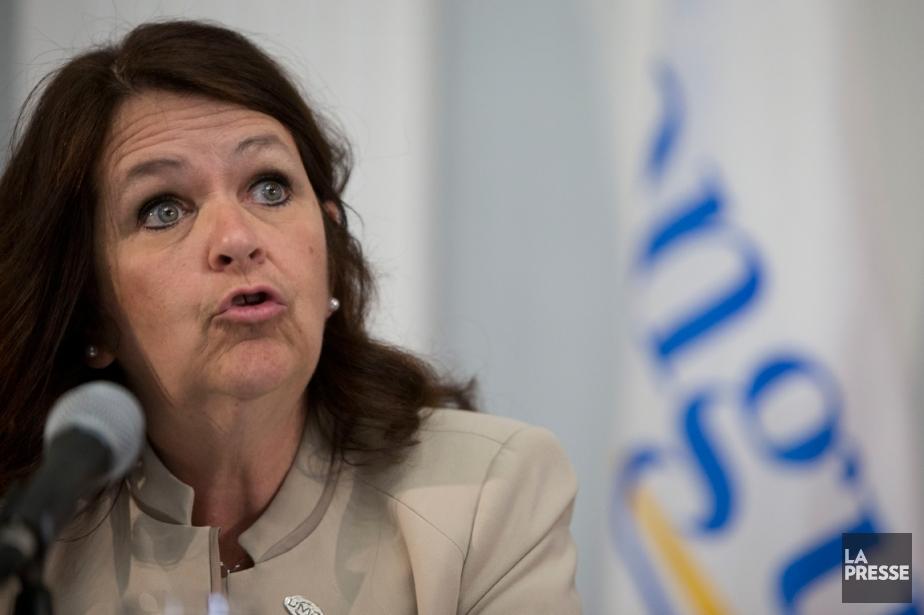 La présidente de l'Union des municipalités du Québec... (PHOTO OLIVIER JEAN, LA PRESSE)