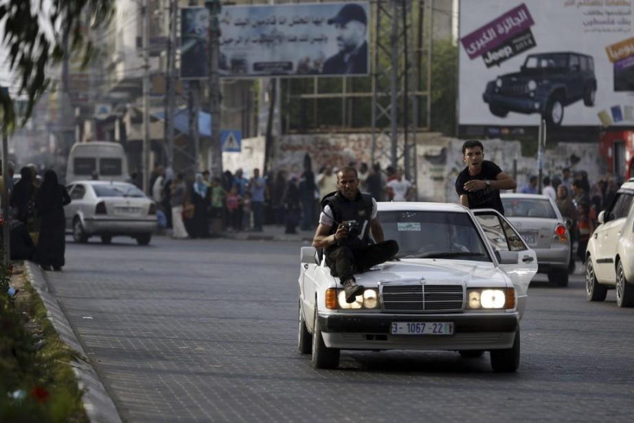 L'organisation de défense de la liberté de la... (PHOTO MOHAMMED ABED, ARCHIVES AFP)
