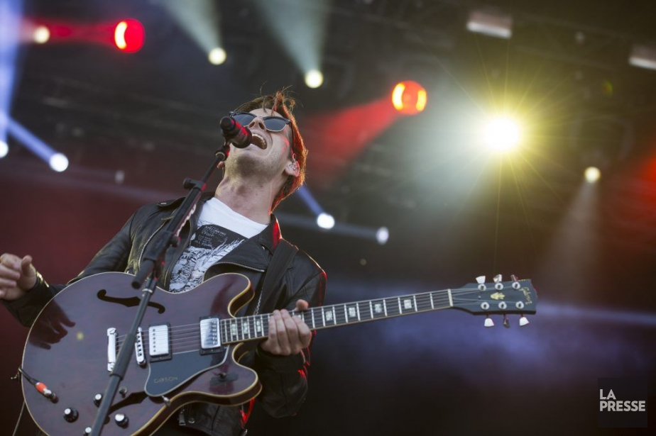 Foster The People, vendredi, à Osheaga.... (PHOTO OLIVIER PONTBRIAND, LA PRESSE)