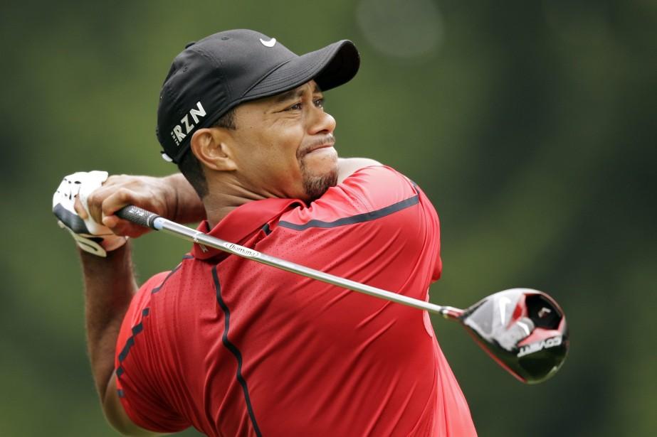 C'est la deuxième fois cette année que Woods... (PHOTO MARK DUNCAN, AP)