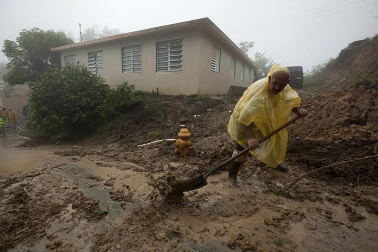 Berthaest passée au sud-ouest de Porto Rico samedi,... (Photo: Reuters)